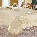 водостойкая скатерть на стол для кухни фото обзор