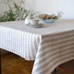 водостойкая скатерть на стол для кухни виды декора