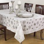 водостойкая скатерть на стол для кухни дизайн