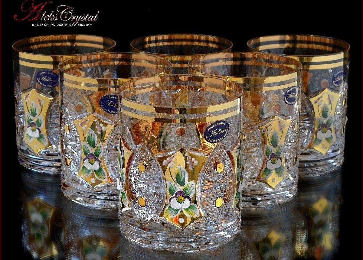 хрустальные стаканы Aleks Crystal