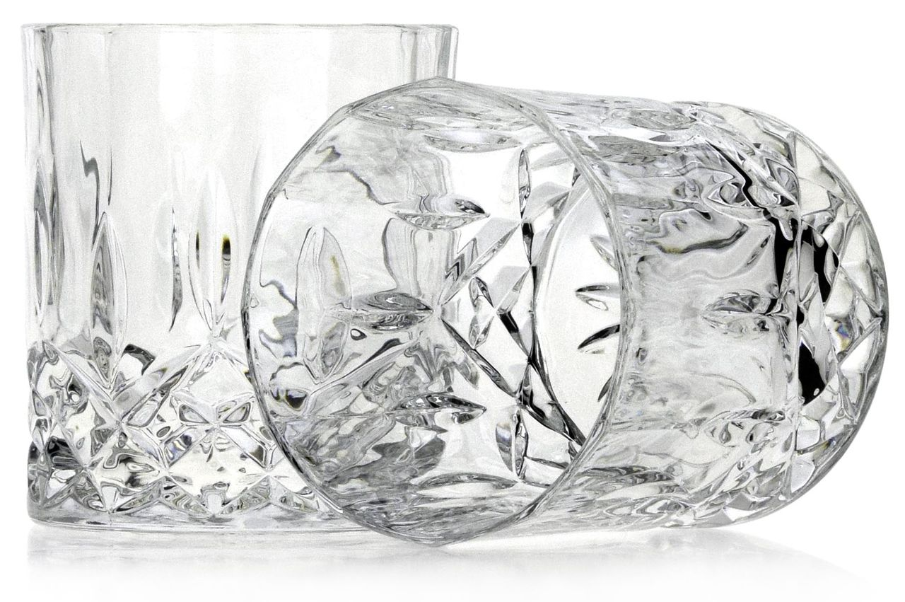 стаканы для виски из хрусталя