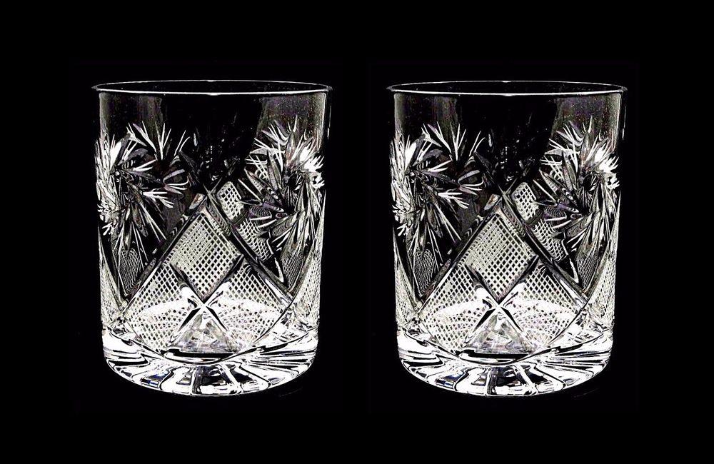 хрустальные стаканы олд фэшн