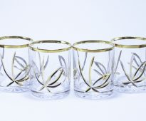 хрустальный набор стаканов