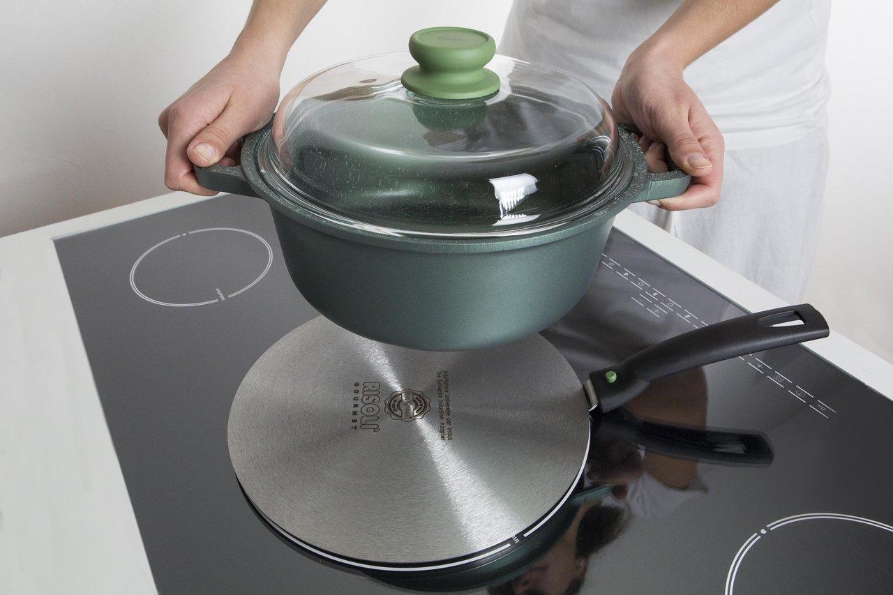 Фото адаптера для индукционной плиты Фото адаптера для индукционной плиты