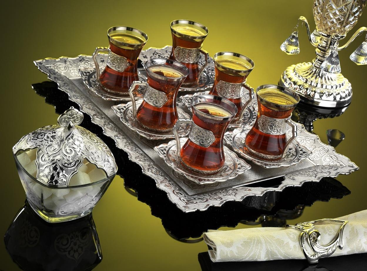 чайный сервиз с армудами