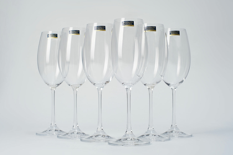 бокалы богемия для белого вина