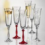 свадебные бокалы богемия