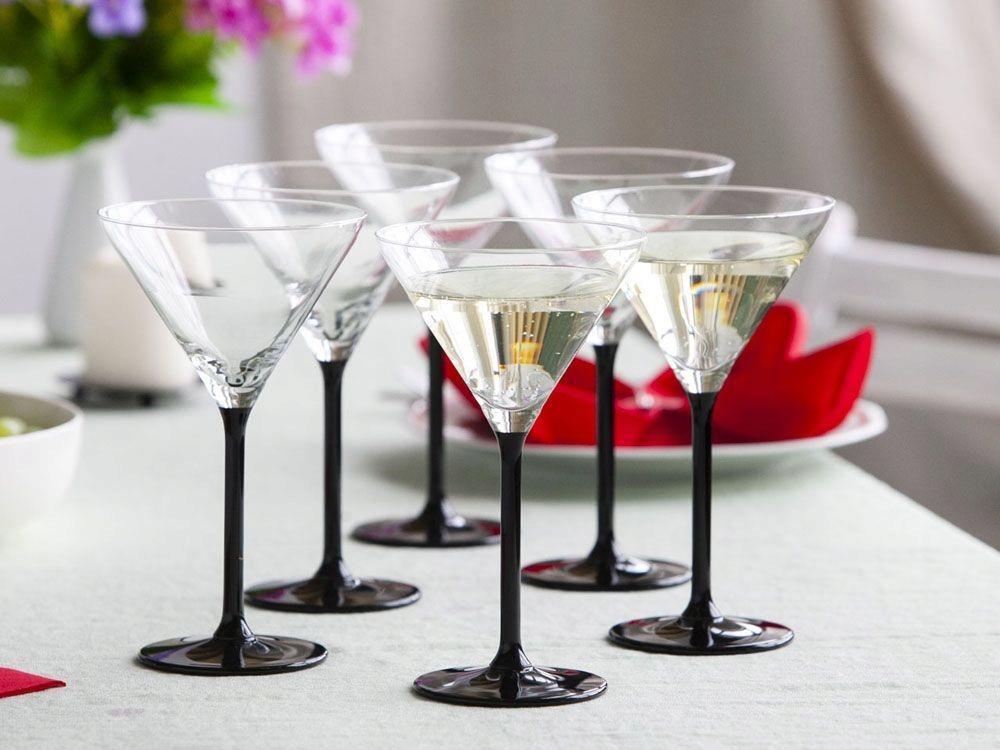 бокалы для мартини оникс