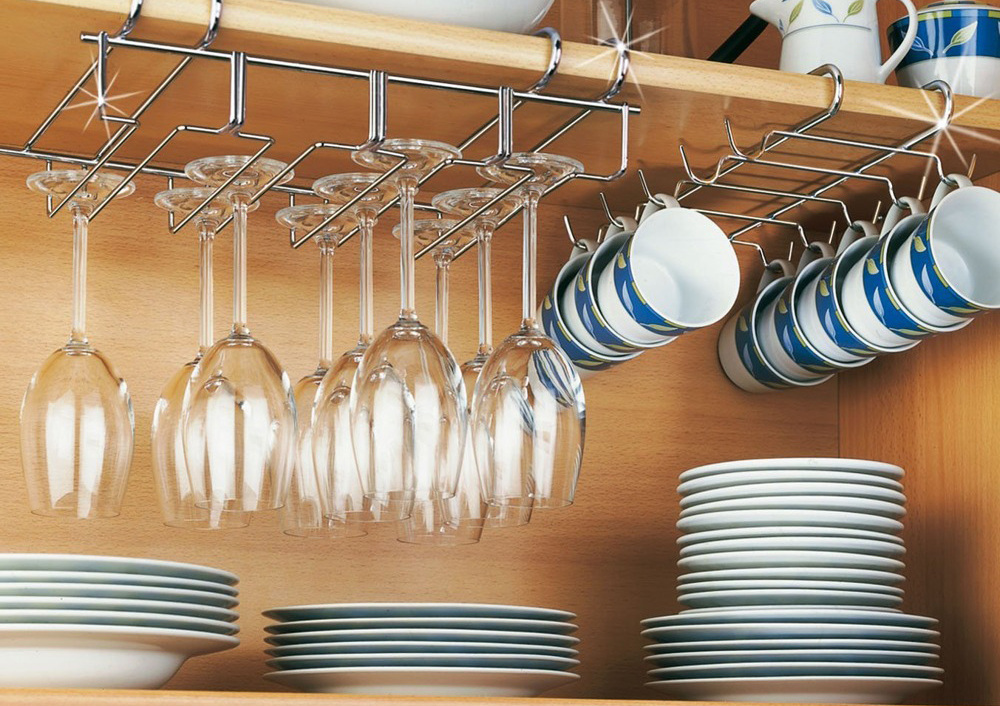 бокалы на кухне