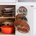 хранение крышек на кухне фото дизайн