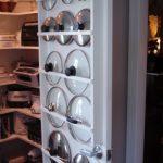 хранение крышек на кухне фото дизайна