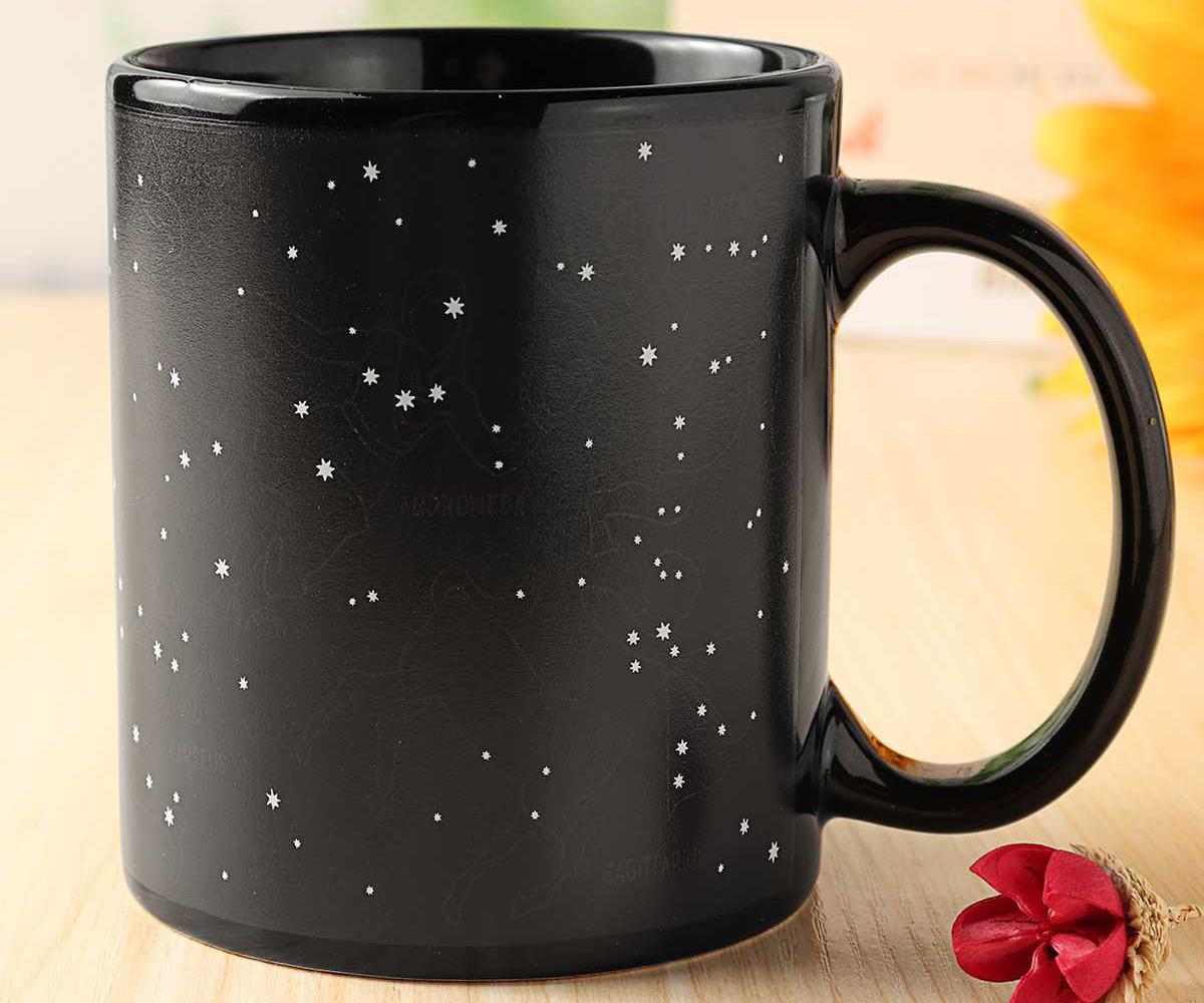 Кружка хамелеон звездное небо