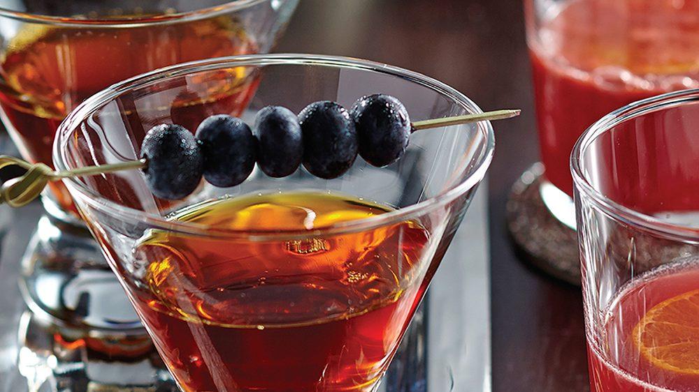 мартини с чаем