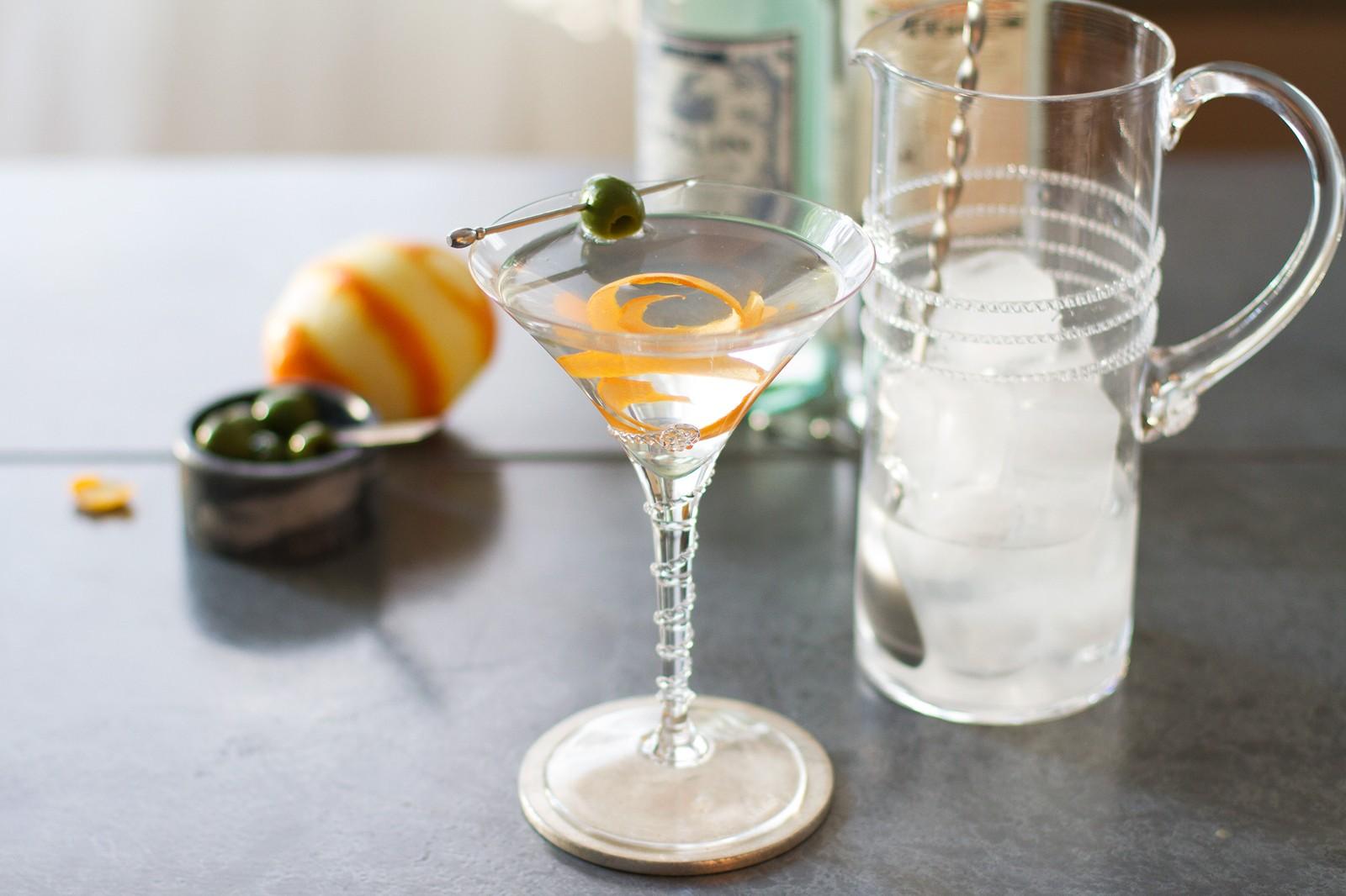 мартини с минеральной водой