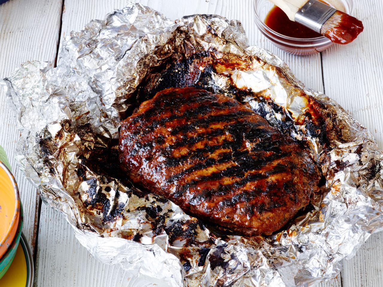 мясо в фольге для запекания