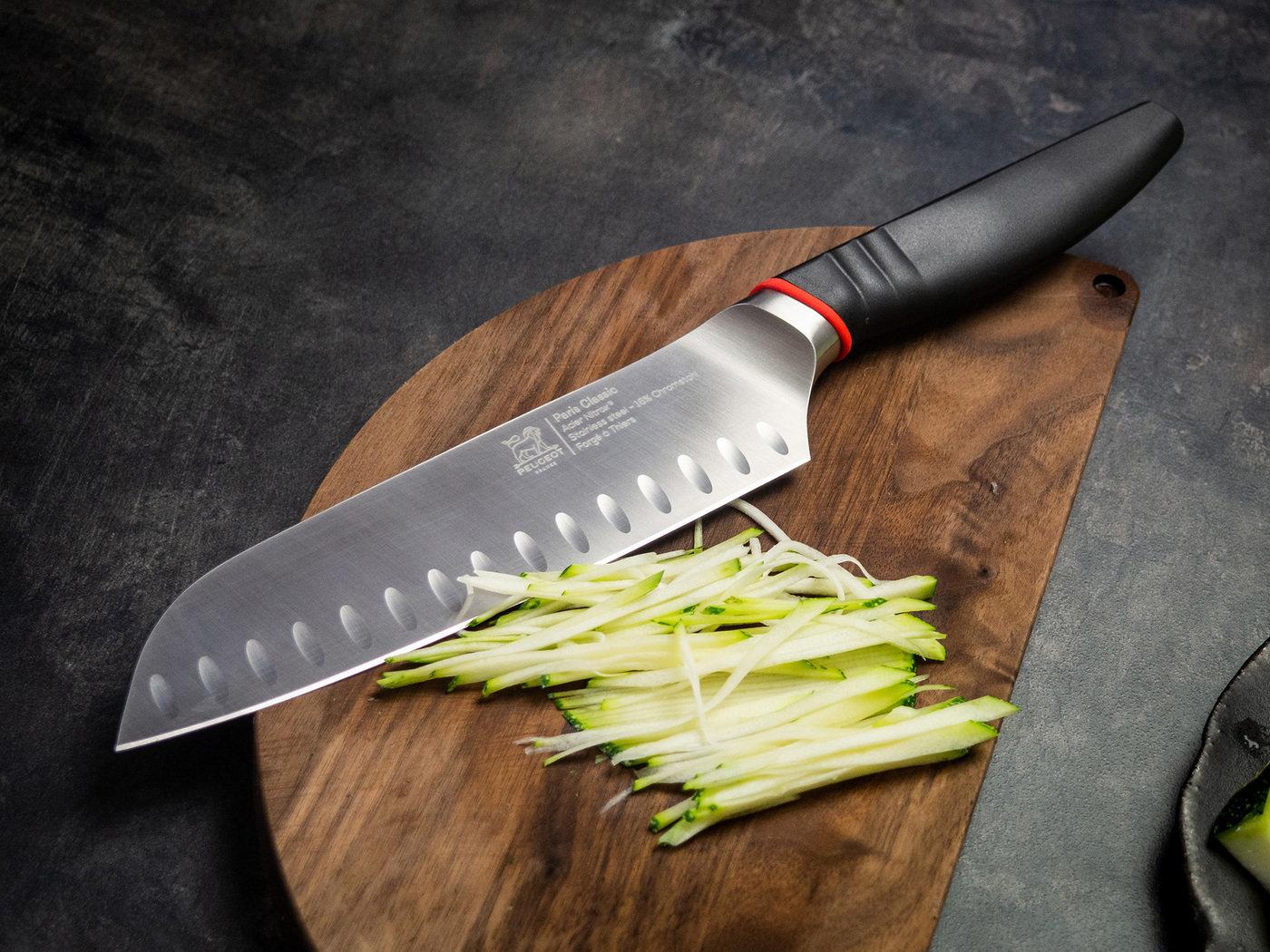 Фото ножа Сантоку