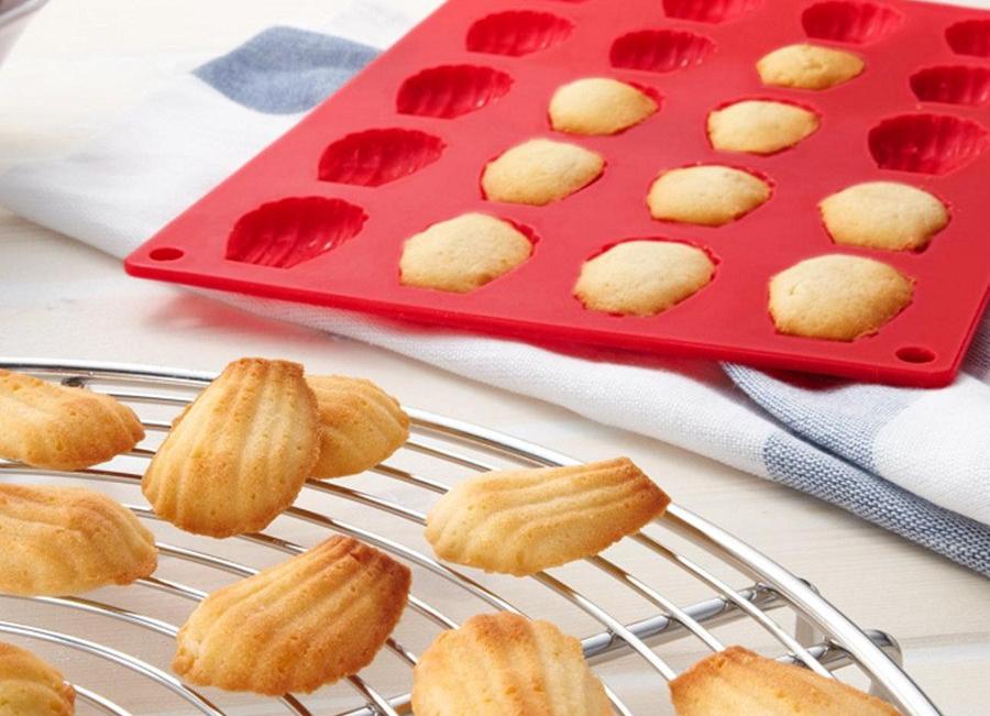 печенье в силиконовой форме