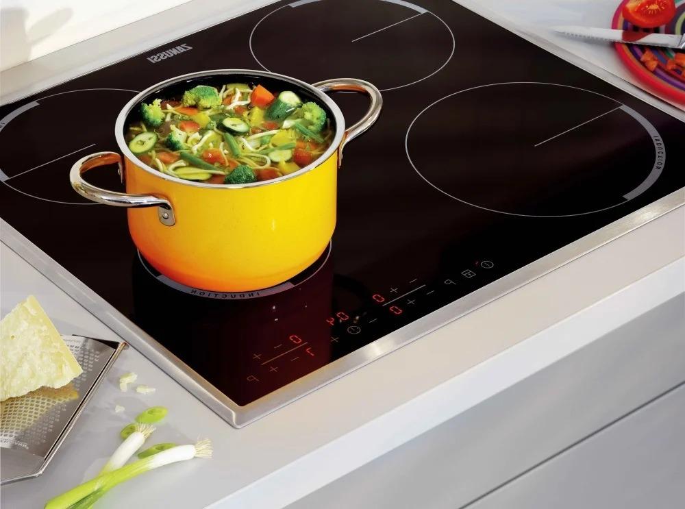 посуда на индукционной плите виды