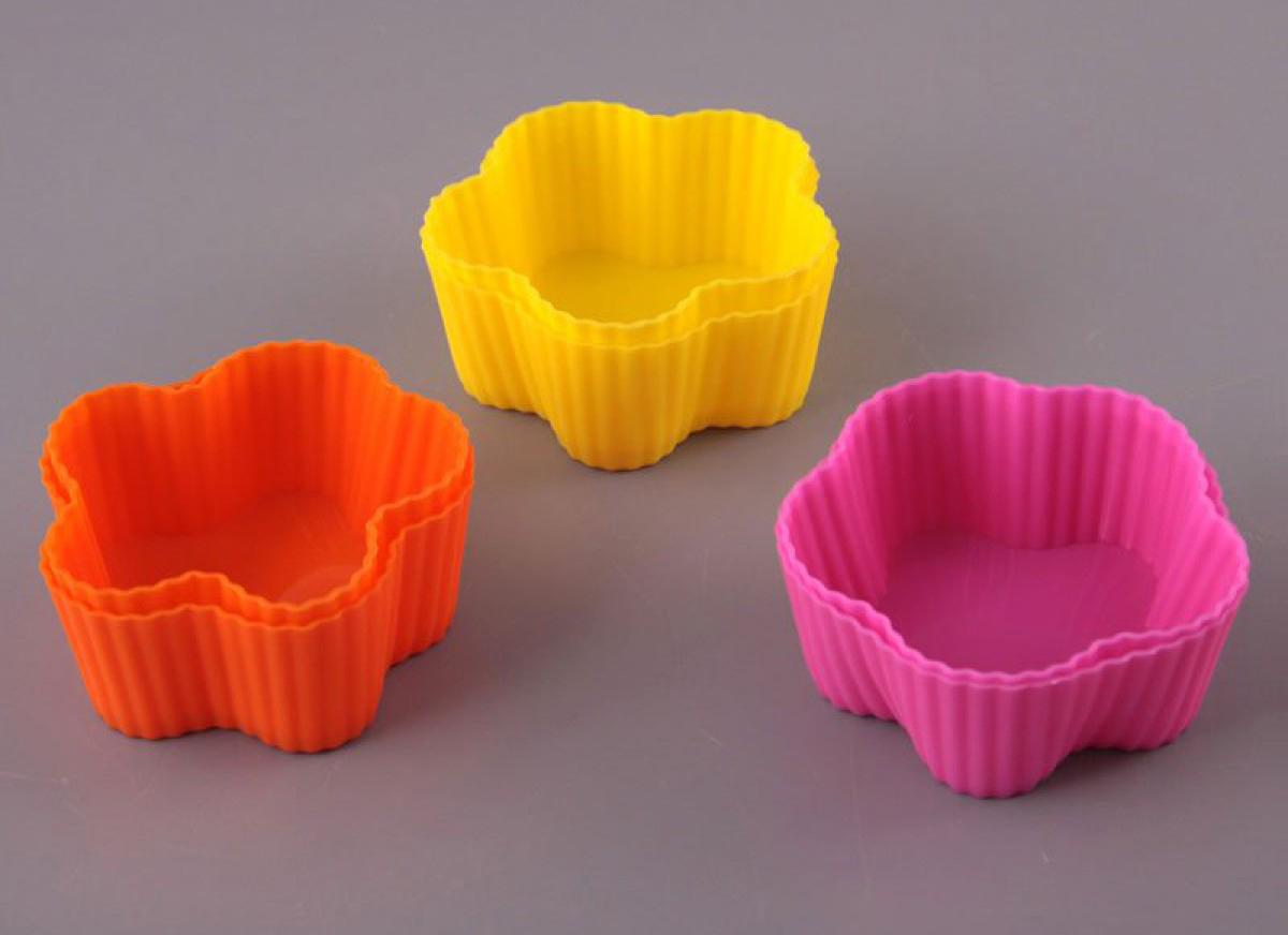 силиконовые формочки для выпечки
