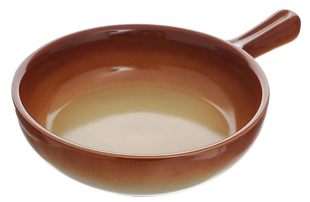 сковорода глиняная с керамическим покрытием