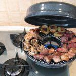сковорода гриль на газу фото