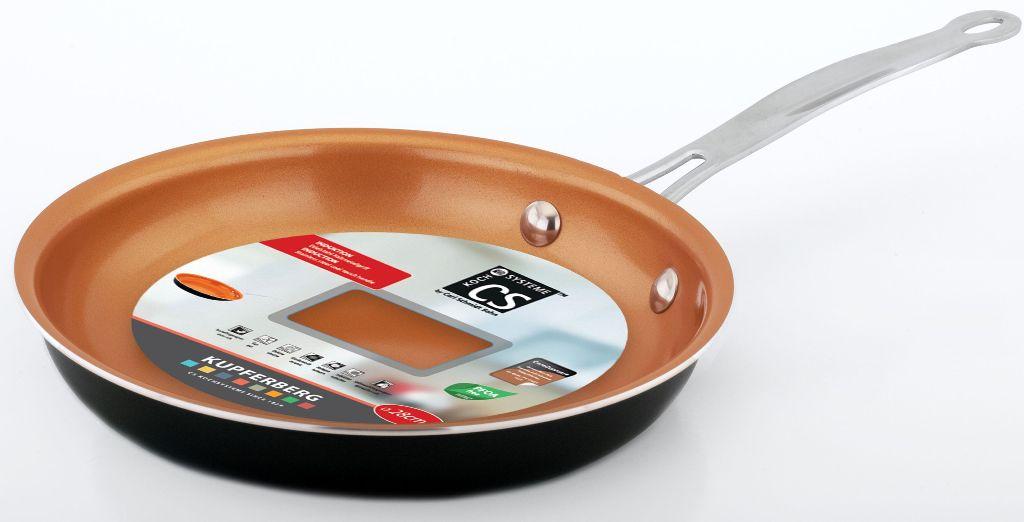 сковорода из алюминия с керамическим покрытием