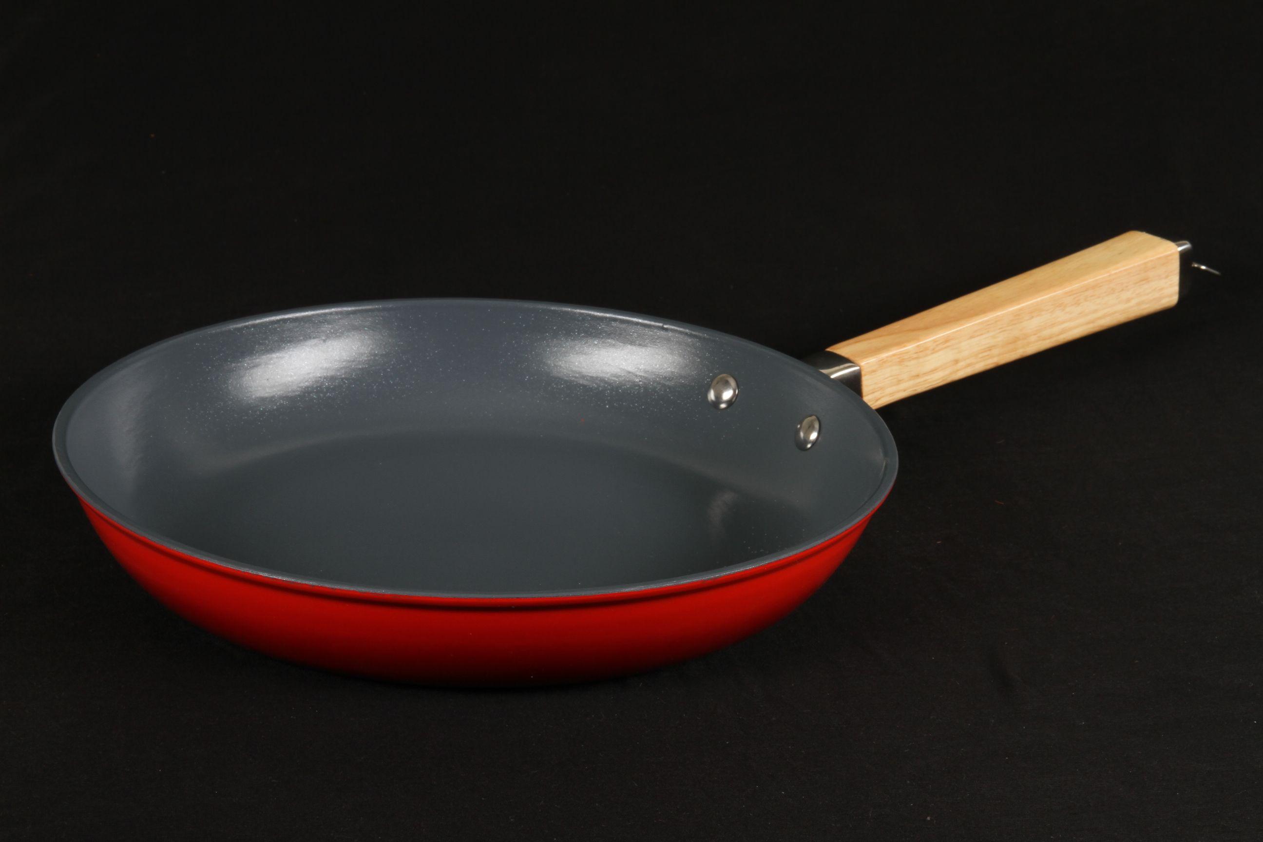 сковорода литой чугун с керамическим покрытием