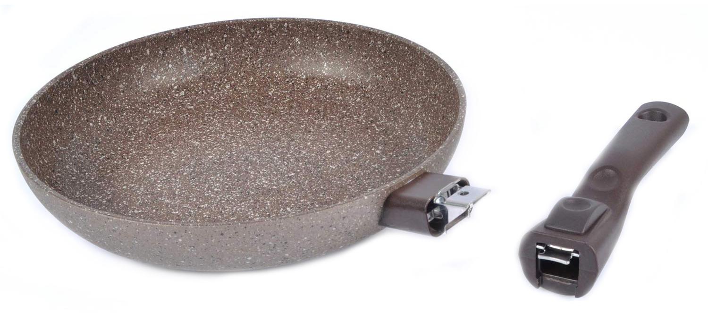 Фото сковороды со съемной ручкой