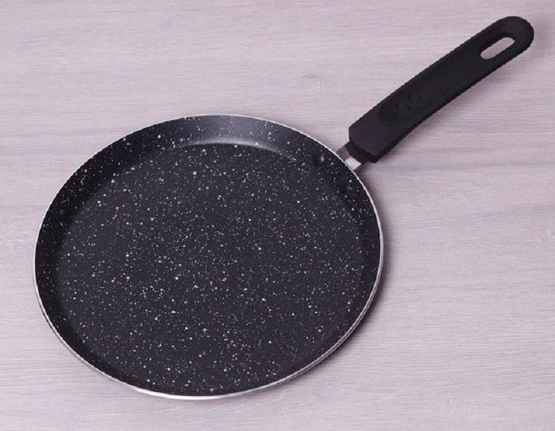 сковорода с мраморны антипригарным покрытием