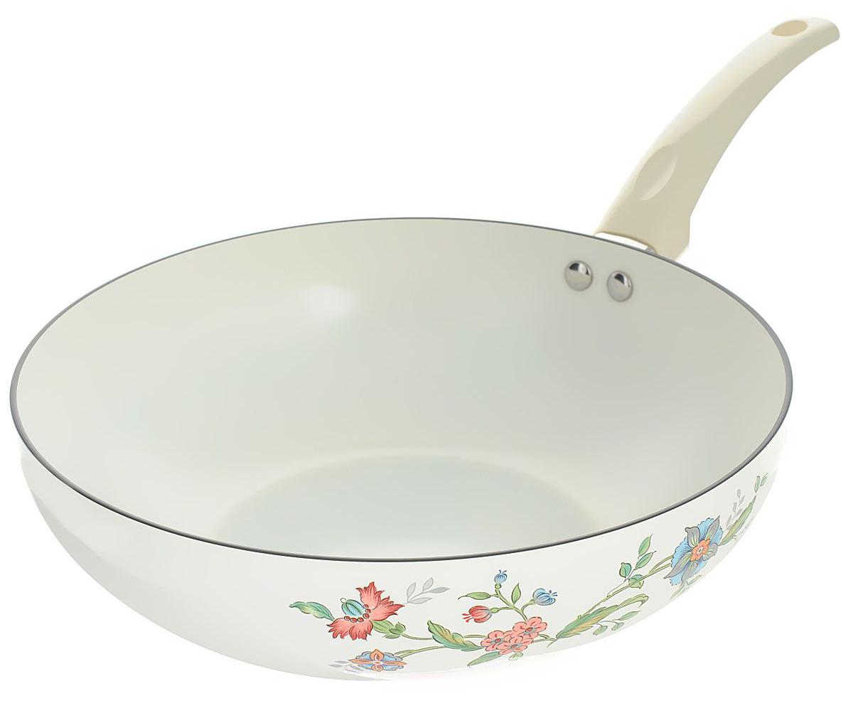 Сковорода вок керамическая
