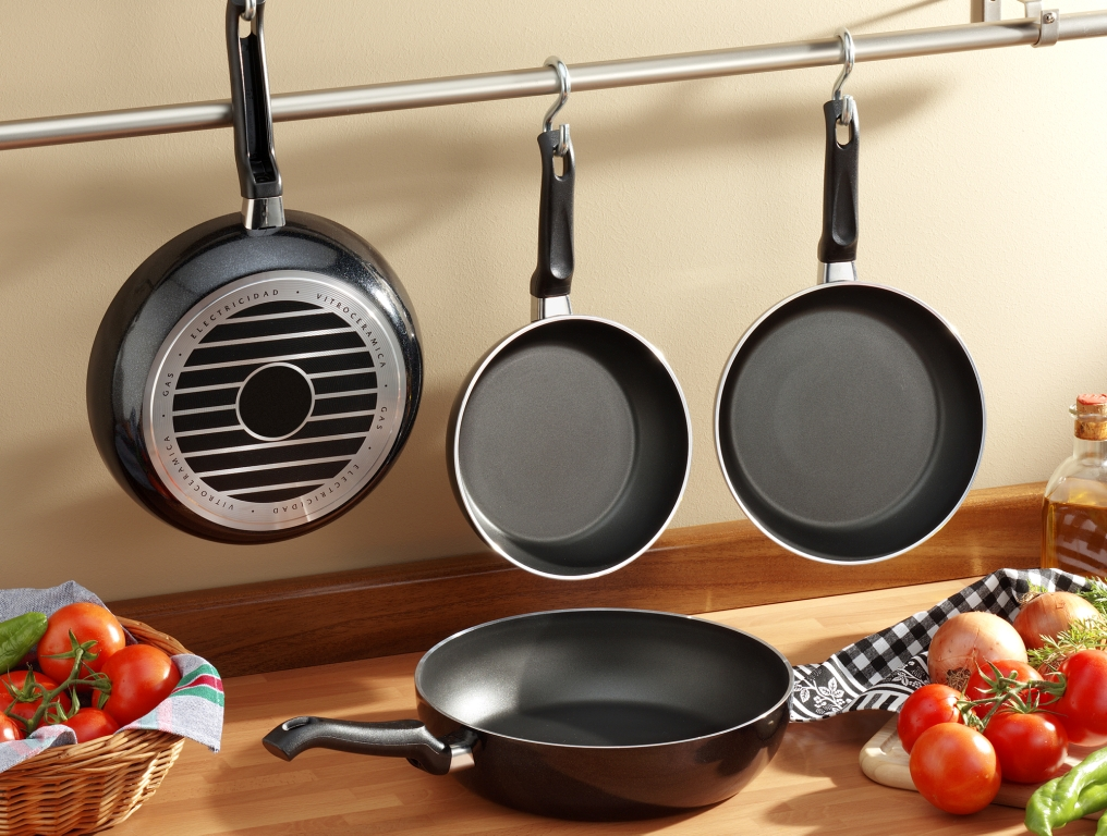 сковородки с антипригарным покрытием