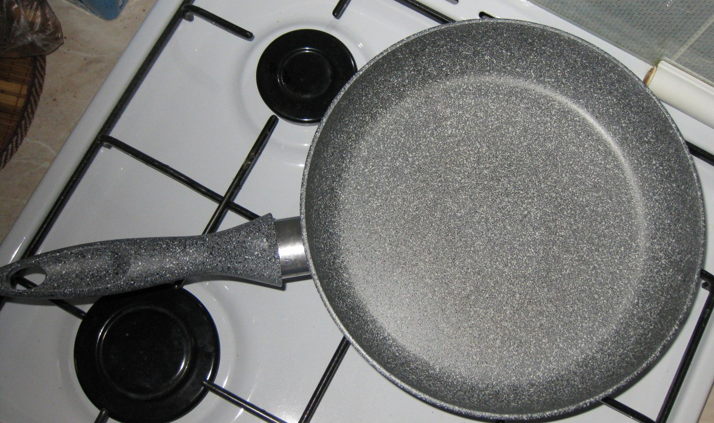 сковорода с мраморным покрытием