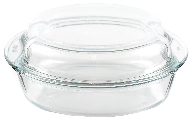 стеклянная кастрюля Fissman