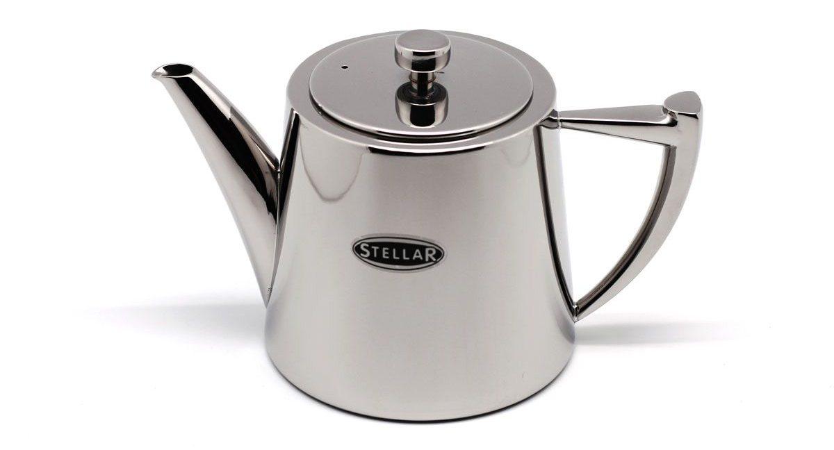 заварочный чайник металлический