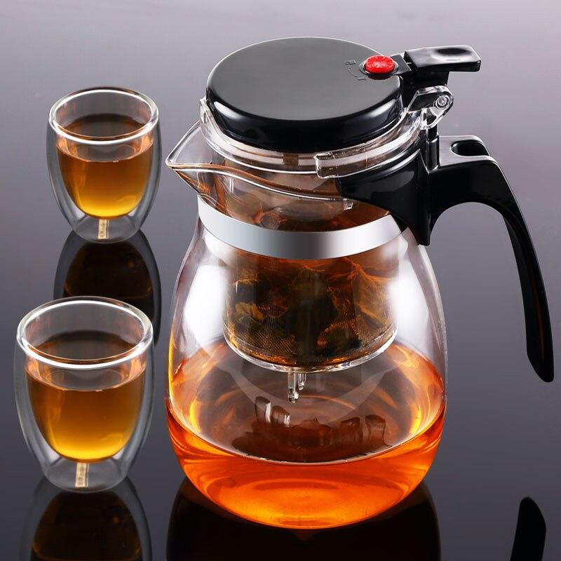 заварочный чайник с кнопкой слива фото