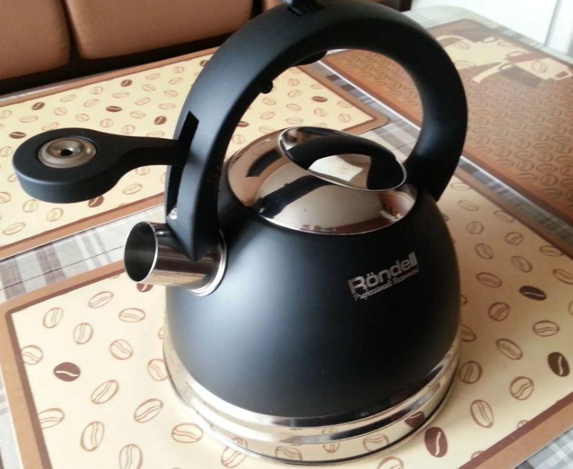 чайник со свистком Rondell