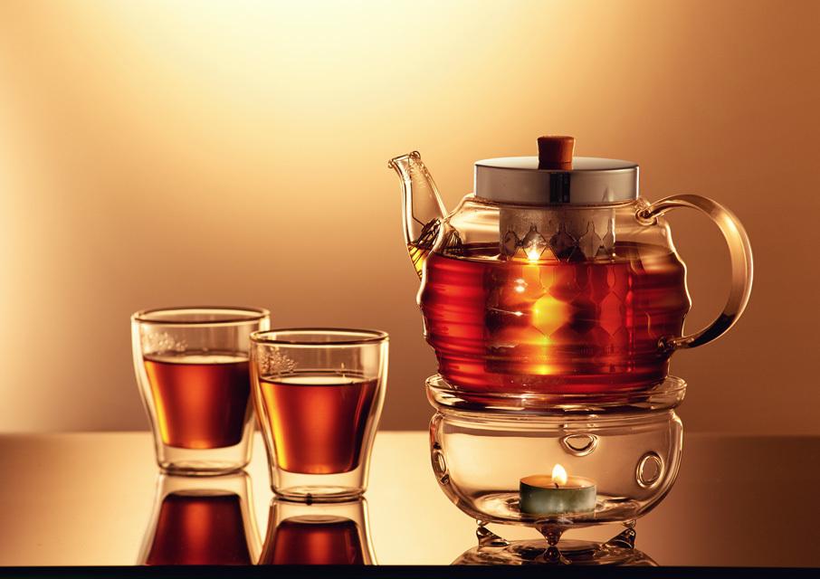 чайник с заварочной колбой