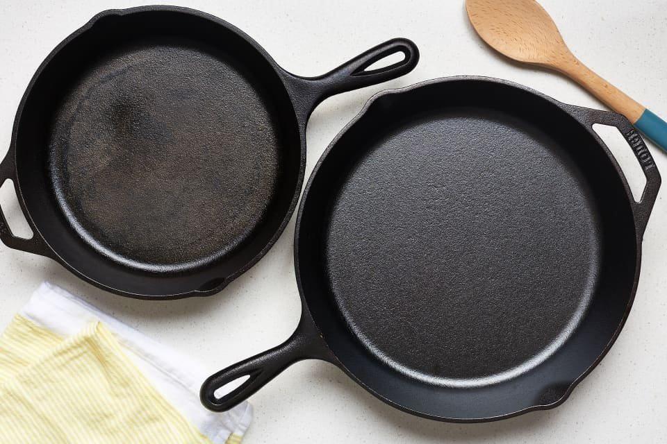 чистка и хранение сковородок