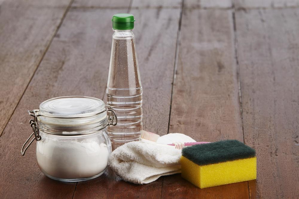 уксус соль сода