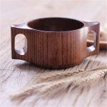 деревянная кружка