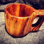 деревянная кружка оформление