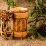 деревянная кружка идеи оформления