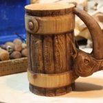деревянная кружка варианты дизайна