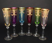 Набор фужеров для шампанского 190 мл Анжела