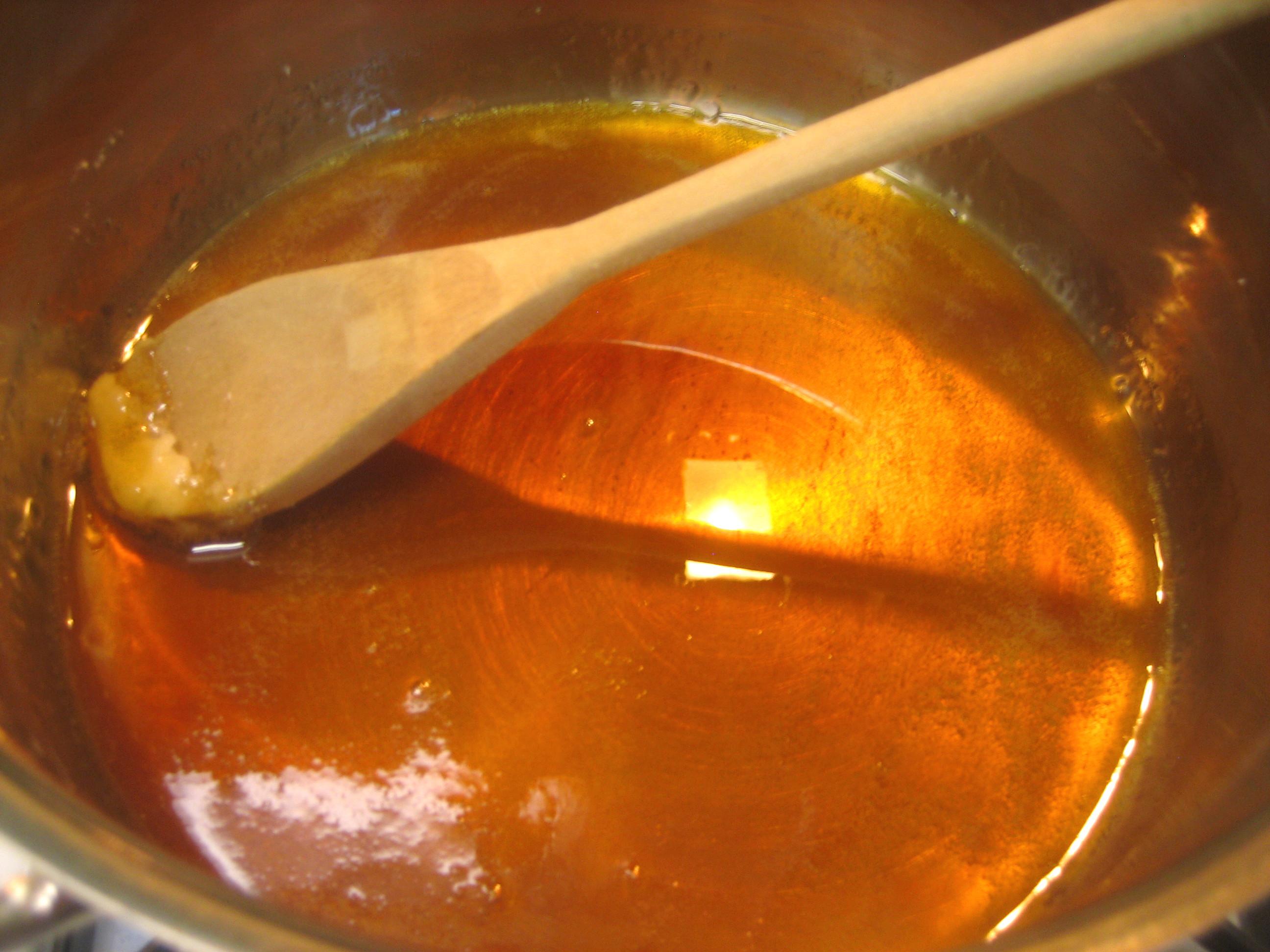 как очистить кастрюлю от сиропа