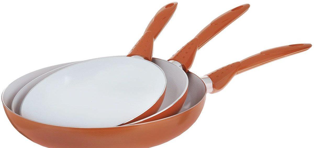 сковороды с керамическим покрытием