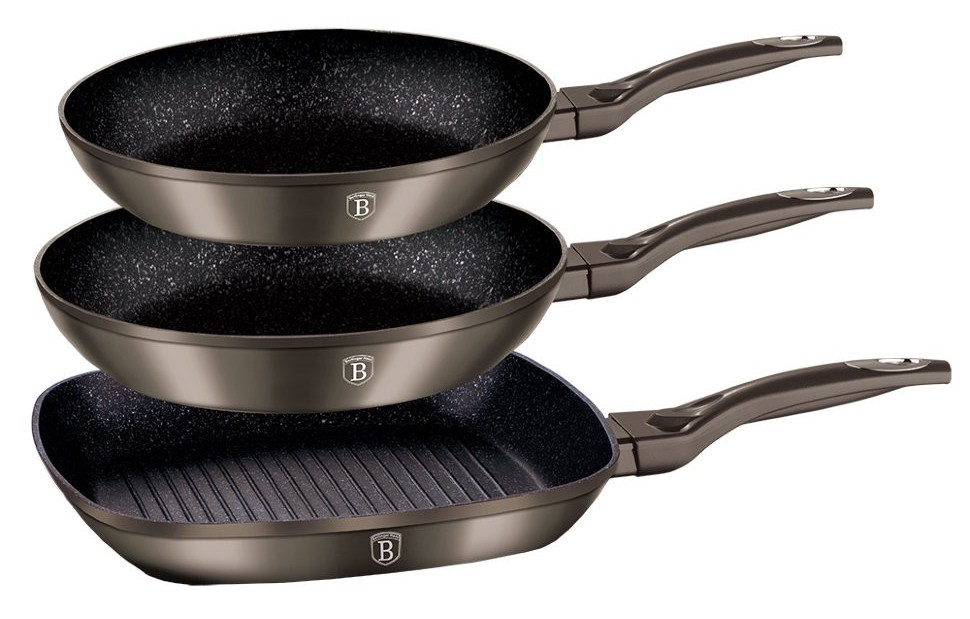 комплект сковородок
