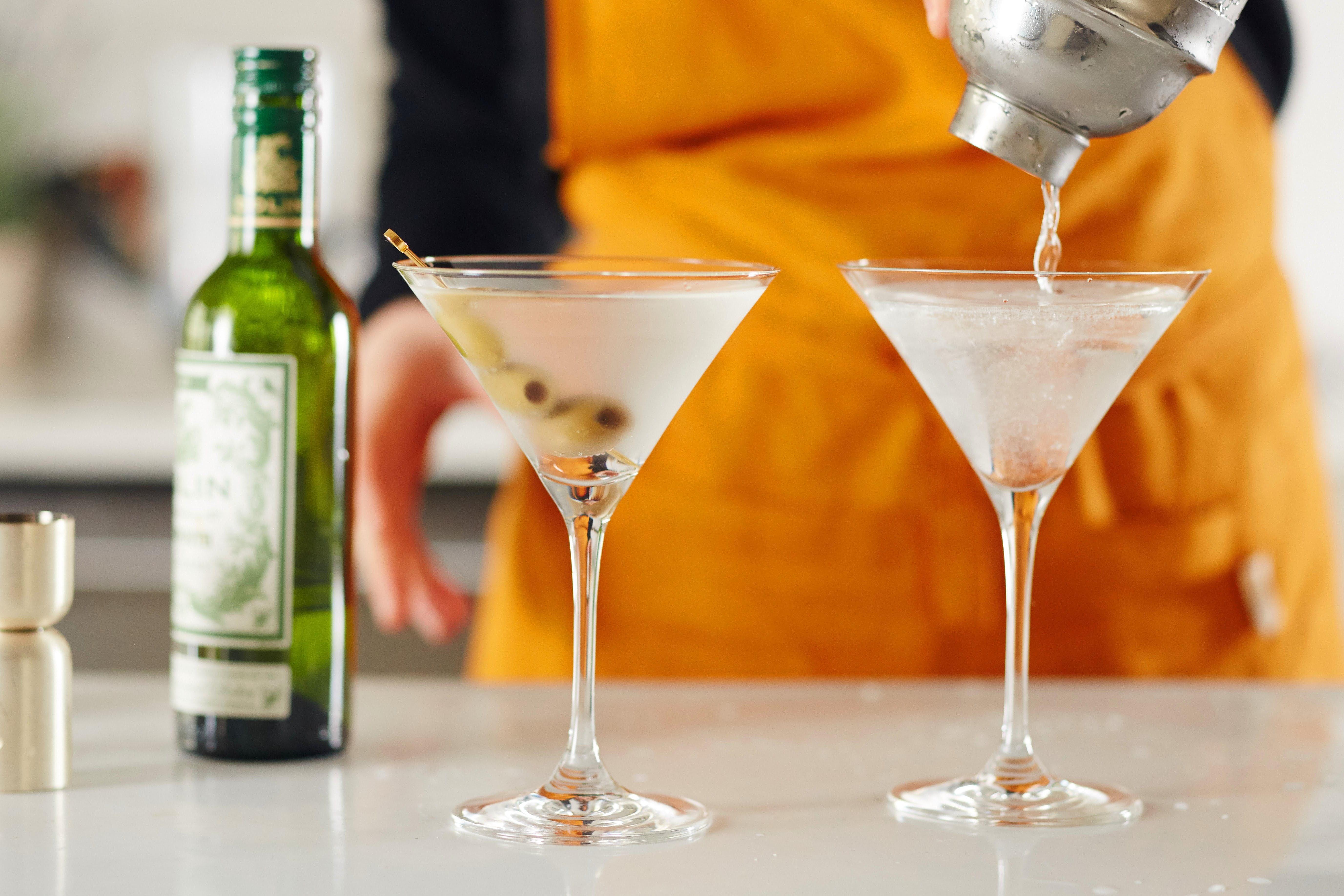 мартини с оливками