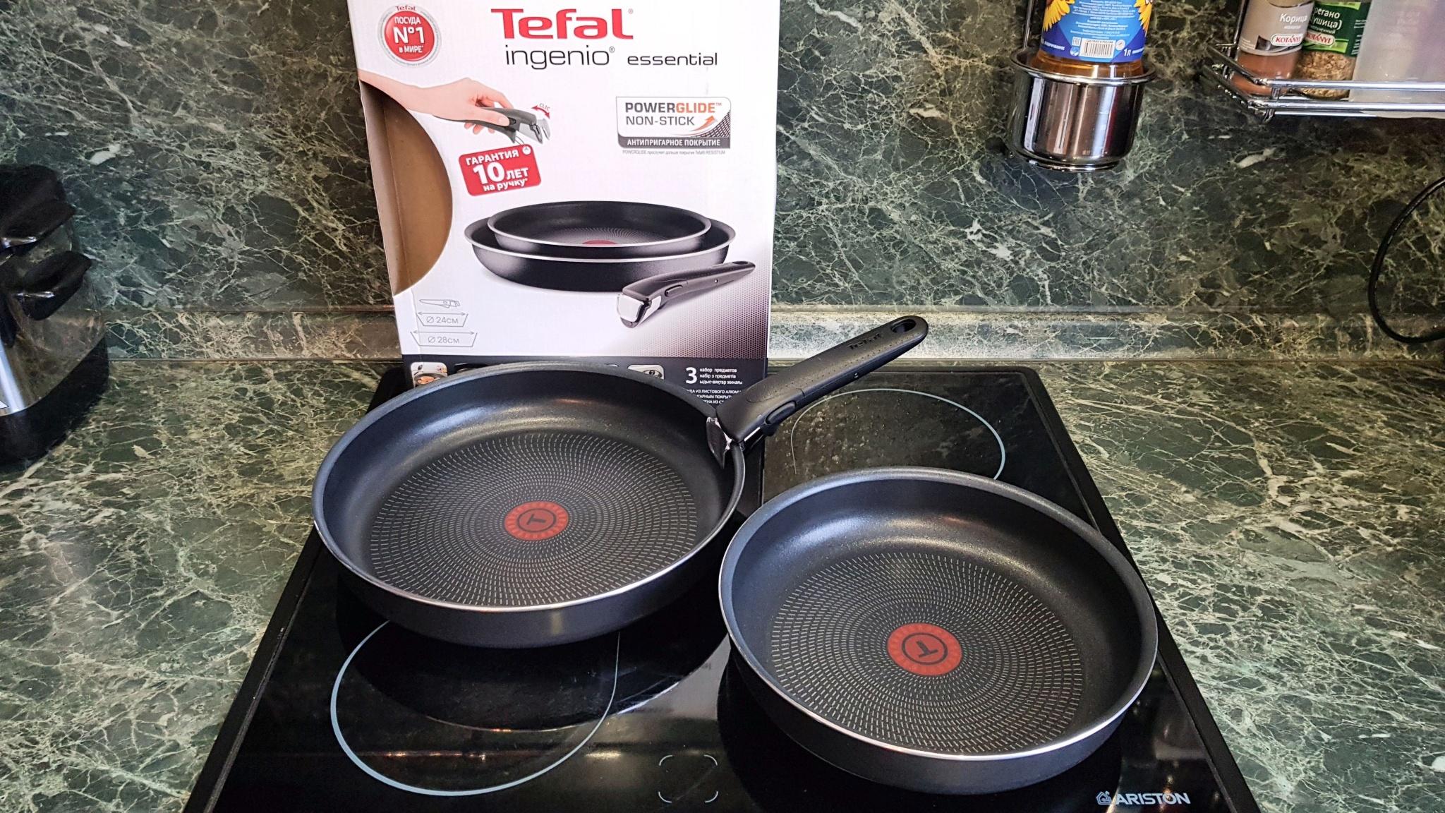 Набор сковородок Tefal Ingenio