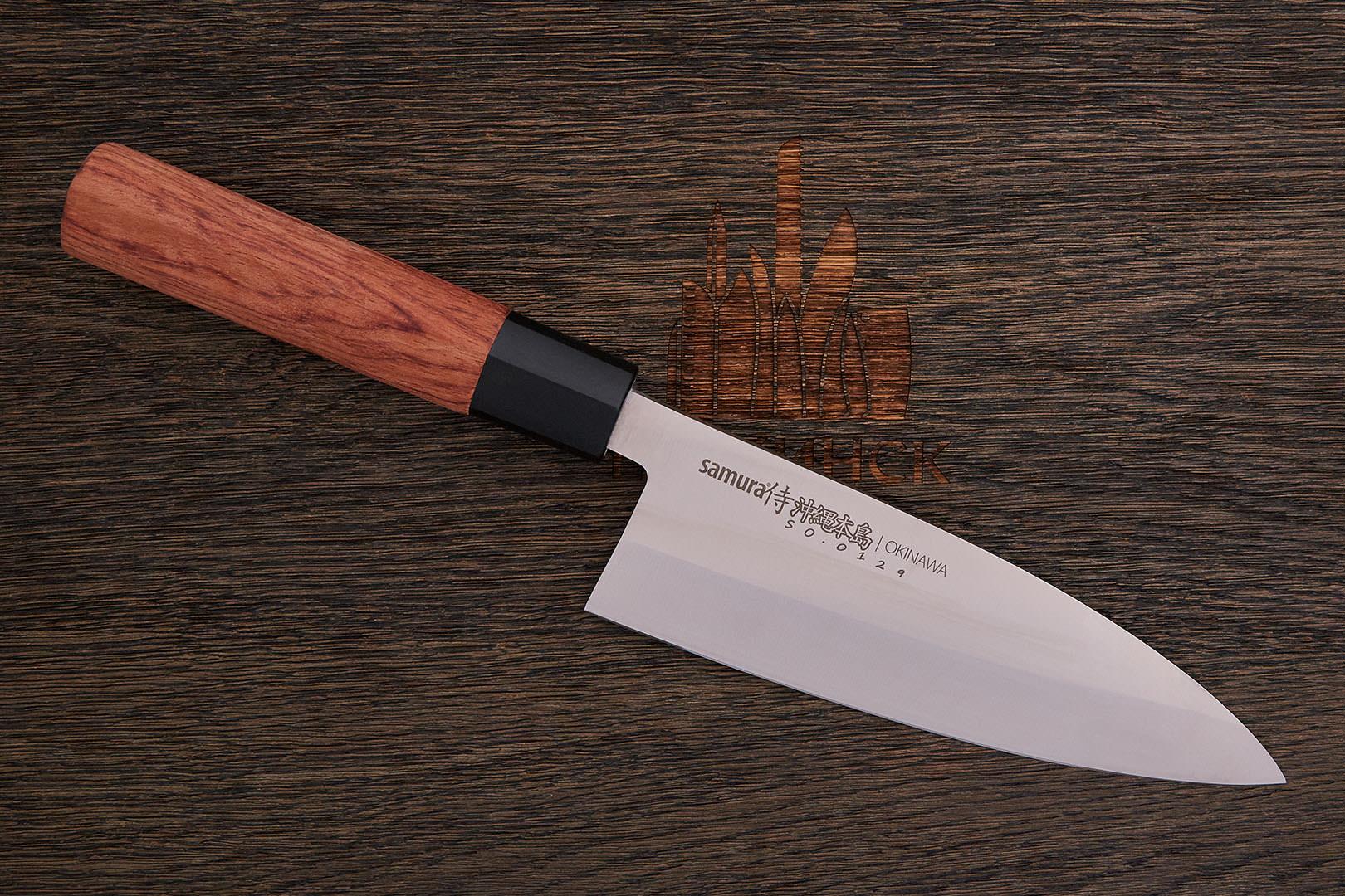 нож деба японский